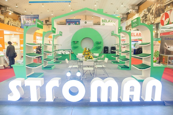 Bộ trưởng Bộ Công thương thăm quan gian hàng Stroman tại VietNam Expo 2016 1