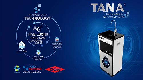 Giới thiệu máy lọc nước R.O Tân Á thế hệ mới 2017 Nanometer Silver 1