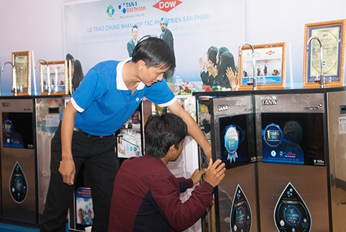 Hội thảo tại Bình Định thành công rực rỡ với sản phẩm Máy lọc nước thế hệ mới 2017 2