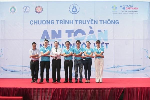 """Khởi động chương trình """"An toàn nguồn nước Việt"""" 1"""