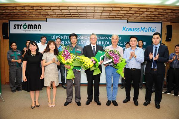 Lễ kí kết hợp tác chiến lược giữa Công ty CP nhựa Stroman và Tập đoàn Krauss Maffei 4