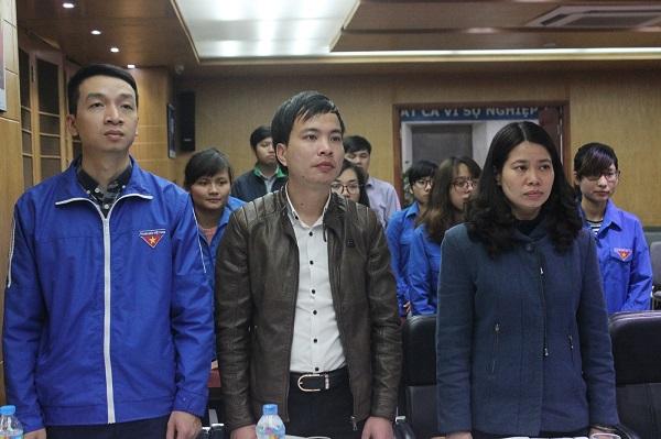 Lễ ra mắt chi đoàn TNCS Hồ Chí Minh Tân Á 1
