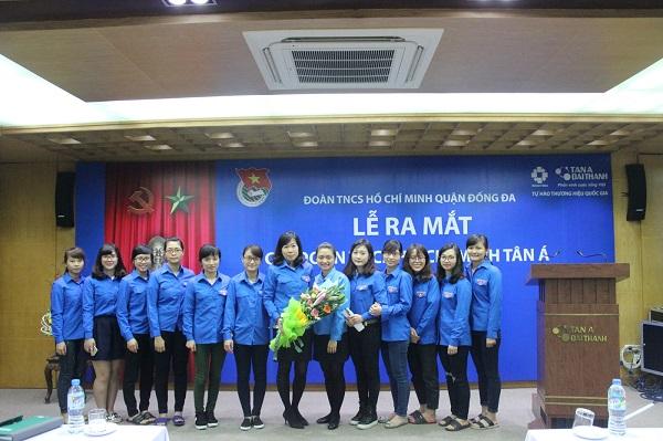 Lễ ra mắt chi đoàn TNCS Hồ Chí Minh Tân Á 4