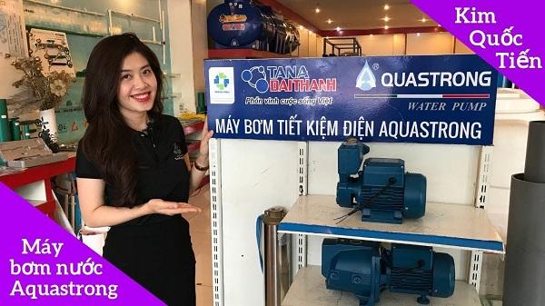 Tập đoàn Tân Á Đại Thành ra mắt sản phẩm máy bơm tiết kiệm điện Aquastrong