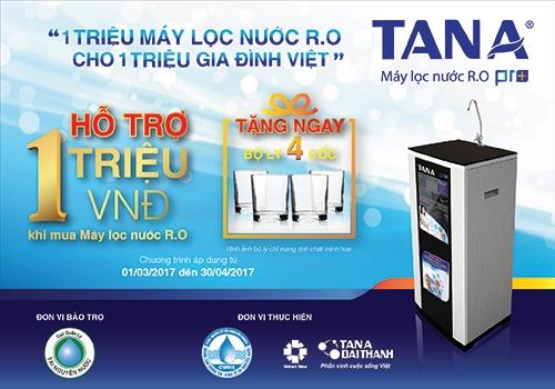 Một triệu máy lọc nước R.O cho một triệu gia đình Việt 2