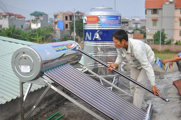 Máy nước nóng năng lượng mặt trời – những điều cần biết