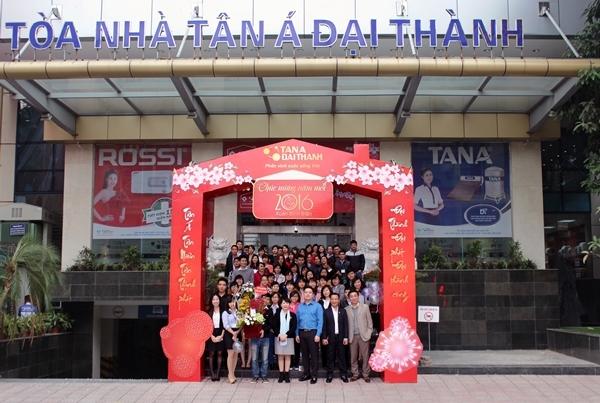 Nhìn lại chặng đường một năm thành công của Tổng Giám Đốc Tập đoàn Tân Á Đại Thành 1