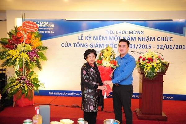 Nhìn lại chặng đường một năm thành công của Tổng Giám Đốc Tập đoàn Tân Á Đại Thành 2