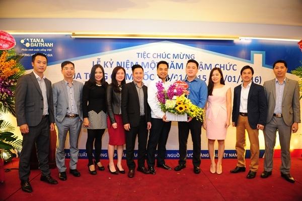 Nhìn lại chặng đường một năm thành công của Tổng Giám Đốc Tập đoàn Tân Á Đại Thành 6