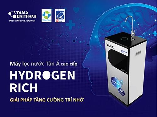 """Nước """"tinh khiết chuẩn Mỹ"""" nhờ Máy lọc nước R.O Tân Á Hydrogen Rich 2"""