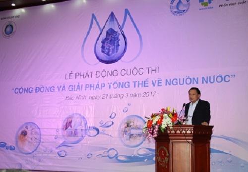 """Phát động cuộc thi """"Cộng đồng và giải pháp tổng thể về nguồn nước"""" 2"""