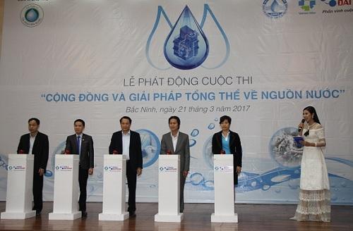 """Phát động cuộc thi """"Cộng đồng và giải pháp tổng thể về nguồn nước"""" 3"""