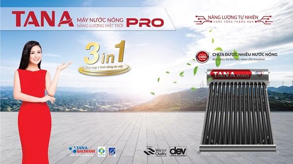 Ra mắt máy nước nóng năng lượng mặt trời thế hệ mới Tân Á Pro và Tân Á Saphir 1
