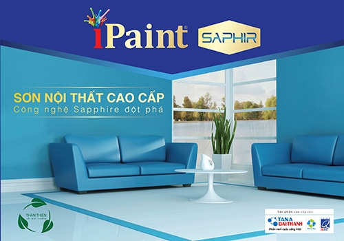 Ra mắt sản phẩm sơn iPaint Saphir ứng dụng công nghệ Sapphire đột phá 1