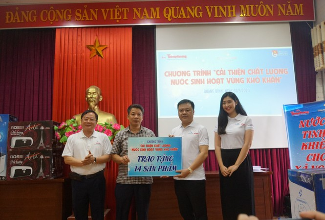 Tập đoàn Tân Á Đại Thành mang nước sạch về vùng khó khăn