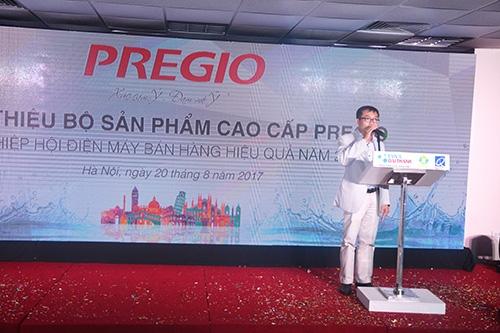 Tân Á Đại Thành chính thức ra mắt bộ sản phẩm cao cấp thương hiệu Pregio 8