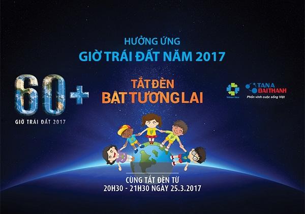 Tân Á Đại Thành hưởng ứng giờ trái đất 2017 1