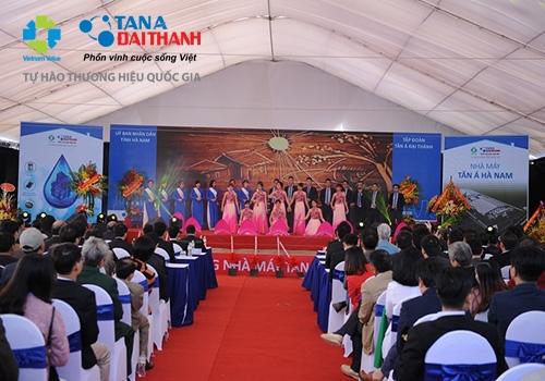 Tân Á Đại Thành khởi công nhà máy thứ 12 tại Hà Nam 9