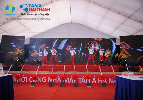 Tân Á Đại Thành khởi công nhà máy thứ 12 tại Hà Nam 12