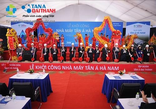 Tân Á Đại Thành khởi công nhà máy thứ 12 tại Hà Nam 2
