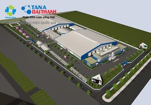 Tân Á Đại Thành khởi công nhà máy thứ 12 tại Hà Nam 3