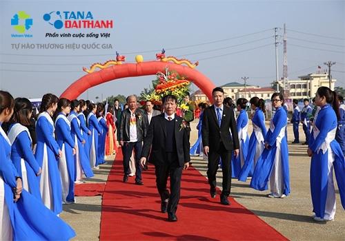 Tân Á Đại Thành khởi công nhà máy thứ 12 tại Hà Nam 5