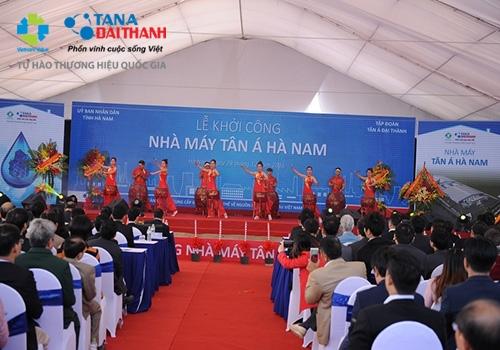 Tân Á Đại Thành khởi công nhà máy thứ 12 tại Hà Nam 6