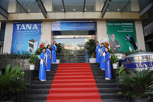 Tân Á Đại Thành ra mắt thương hiệu sản phẩm cao cấp Classio 10