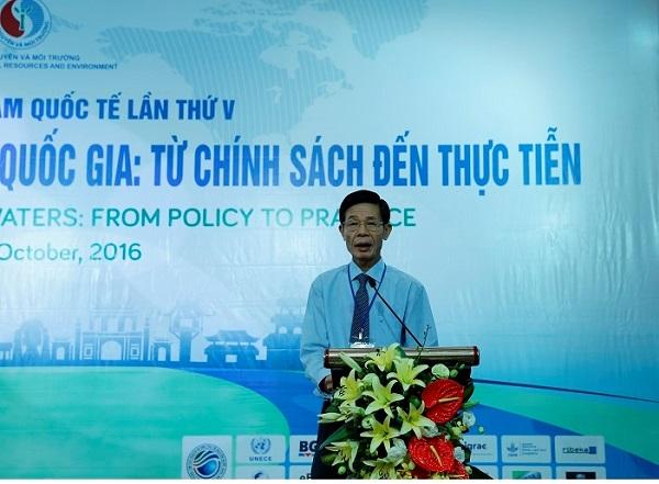 """Tân Á Đại Thành tham dự Hội thảo và triển lãm quốc tế """"Quản lý nguồn nước liên tỉnh, liên quốc gia"""" 1"""