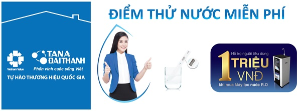 Tân Á Đại Thành tổ chức 1.000 điểm thử nước miễn phí
