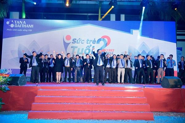 """Tân Á Đại Thành tổ chức thành công đại lễ hội """"Sức trẻ tuổi 22"""" 11"""
