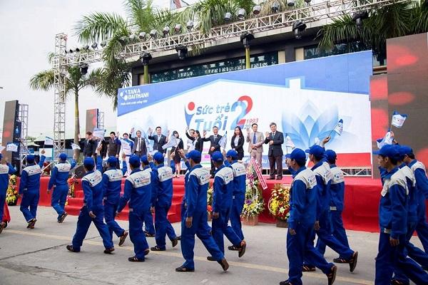 """Tân Á Đại Thành tổ chức thành công đại lễ hội """"Sức trẻ tuổi 22"""" 2"""