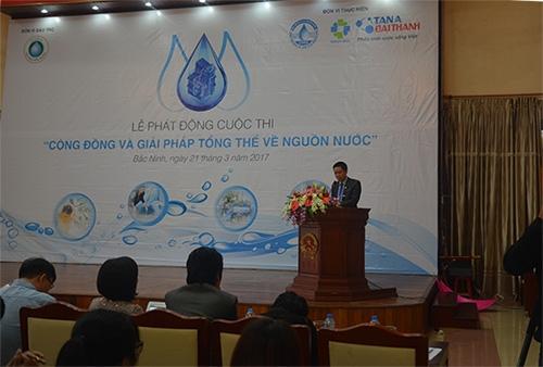 """Chính thức phát động cuộc thi """"Cộng đồng và Giải pháp tổng thể về nguồn nước"""" 1"""
