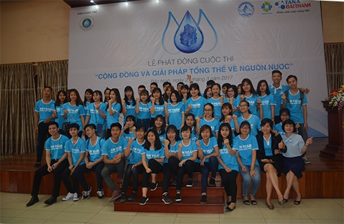 """Chính thức phát động cuộc thi """"Cộng đồng và Giải pháp tổng thể về nguồn nước"""" 3"""