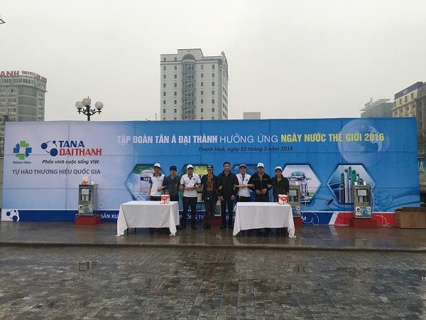Tập đoàn Tân Á Đại Thành đồng hành cùng Ngày nước Thế giới 2016 2