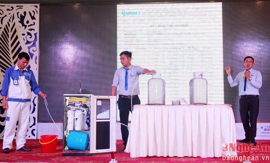 Tập đoàn Tân Á Đại Thành giới thiệu Máy lọc nước R.O thế hệ mới 2016 tại Nghệ An 3