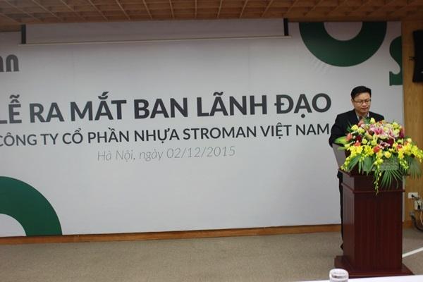 Tập đoàn Tân Á Đại Thành ra mắt Ban lãnh đạo Công ty Cổ phần Nhựa Stroman Việt Nam 3