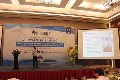 Tập đoàn Tân Á Đại Thành tham dự Hội thảo Vietwater 2017 1
