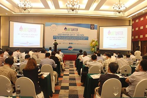 Tập đoàn Tân Á Đại Thành tham dự Hội thảo Vietwater 2017 2