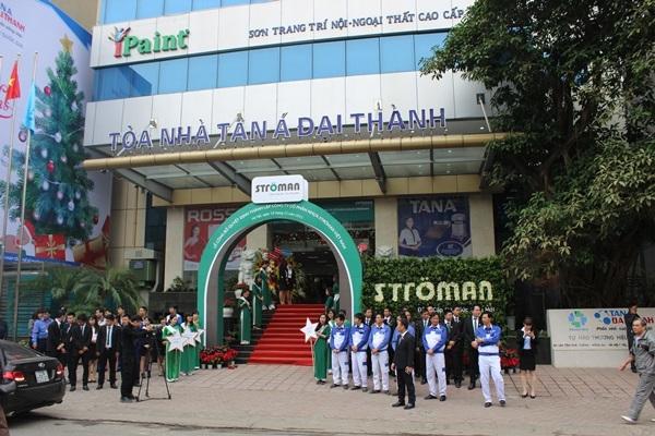 Tập đoàn Tân Á Đại Thành tổ chức lễ công bố quyết định thành lập Công ty CP nhựa Stroman Việt Nam và Chủ tịch HĐQT đón nhận huân chương lao động hạng 3 2