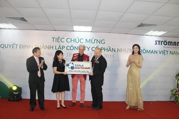 Tập đoàn Tân Á Đại Thành tổ chức lễ công bố quyết định thành lập Công ty CP nhựa Stroman Việt Nam và Chủ tịch HĐQT đón nhận huân chương lao động hạng 3 7