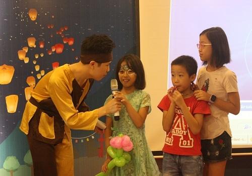 Xen kẽ chương trình, các bé được tham gia các trò chơi hấp dẫn 5