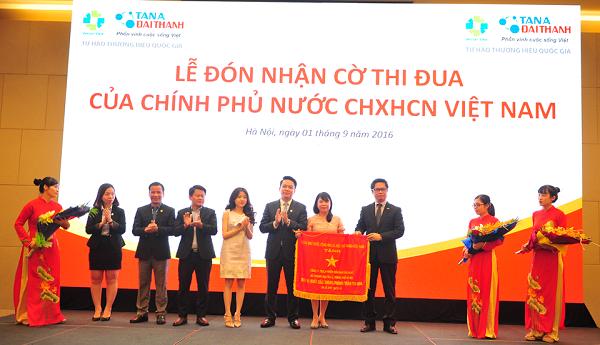 Tập Đoàn Tân Á Đại Thành vinh dự đón nhận Cờ thi đua của Chính Phủ Nước CHXHCN Việt Nam 1