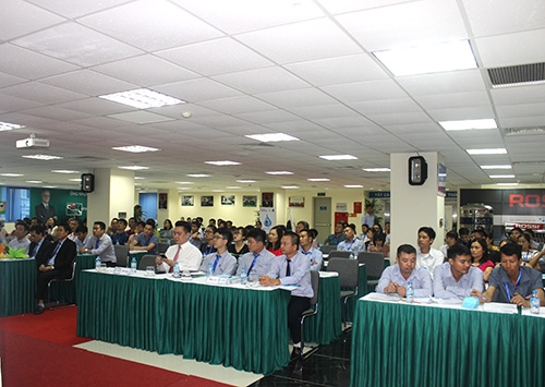 Tổ chức thành công Buổi gặp mặt giới thiệu Bộ sản phẩm Tân Á Đại Thành thế hệ mới 2017 cho các nhà phân phối 6