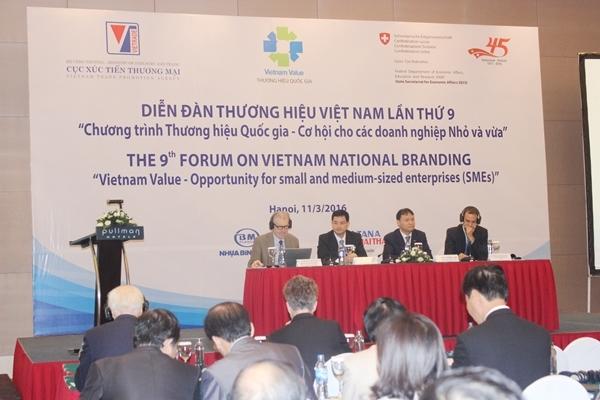 Tổng giám đốc Tân Á Đại Thành được bầu vào Ban chỉ đạo Diễn đàn Thương hiệu Việt Nam 2