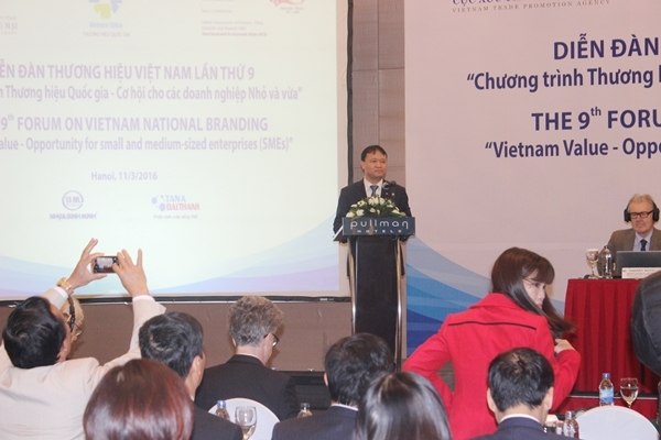 Tổng giám đốc Tân Á Đại Thành được bầu vào Ban chỉ đạo Diễn đàn Thương hiệu Việt Nam 3