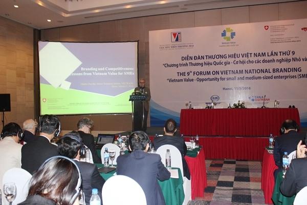 Tổng giám đốc Tân Á Đại Thành được bầu vào Ban chỉ đạo Diễn đàn Thương hiệu Việt Nam 4