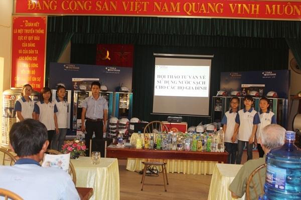 Tưng bừng hội thảo tư vấn sử dụng nước sạch tại tỉnh Hà Nam 2