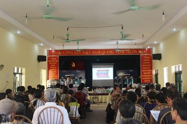 Tưng bừng hội thảo tư vấn sử dụng nước sạch tại tỉnh Hà Nam 4