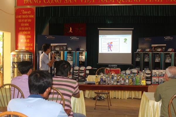 Tưng bừng hội thảo tư vấn sử dụng nước sạch tại tỉnh Hà Nam 5